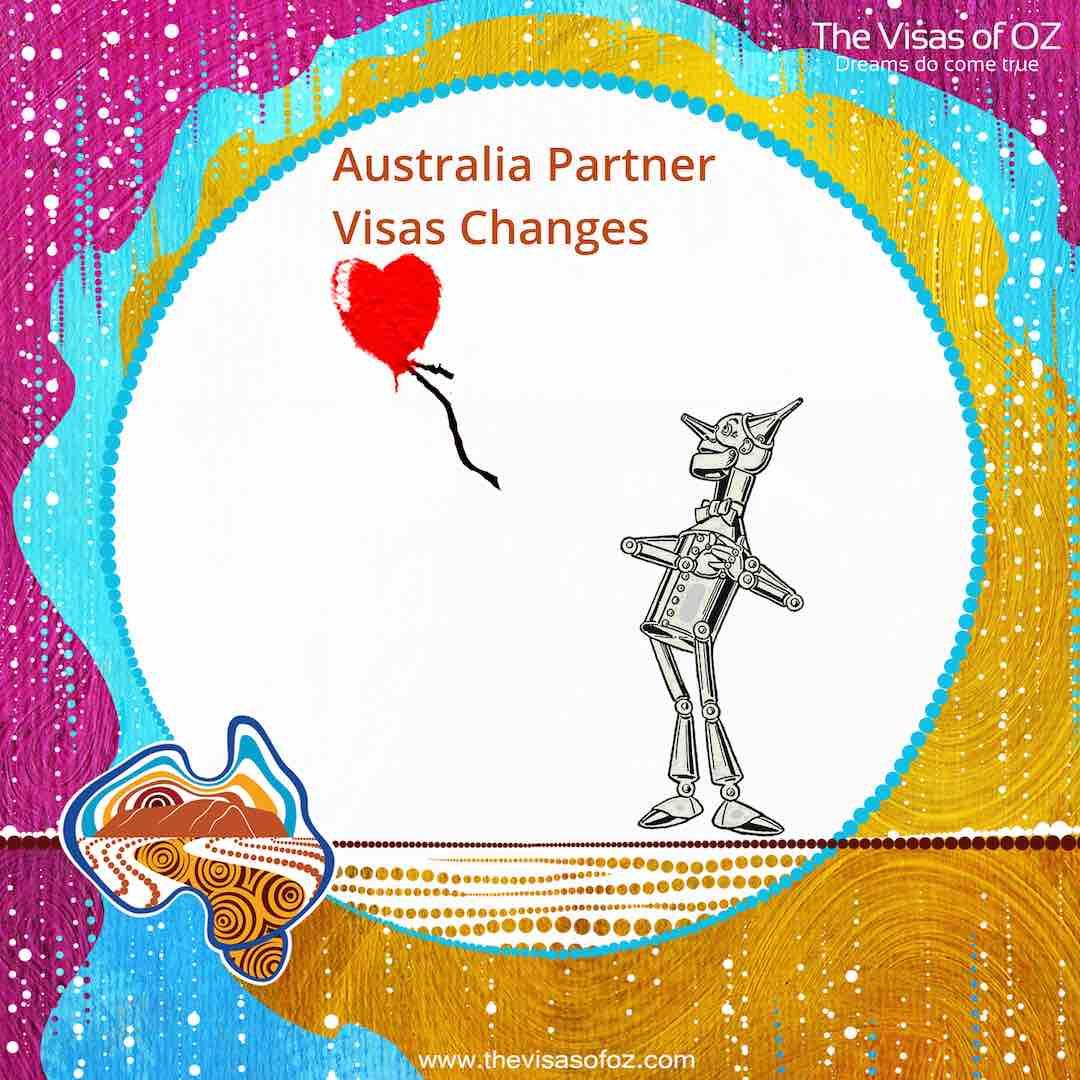 Partner Visa Changes