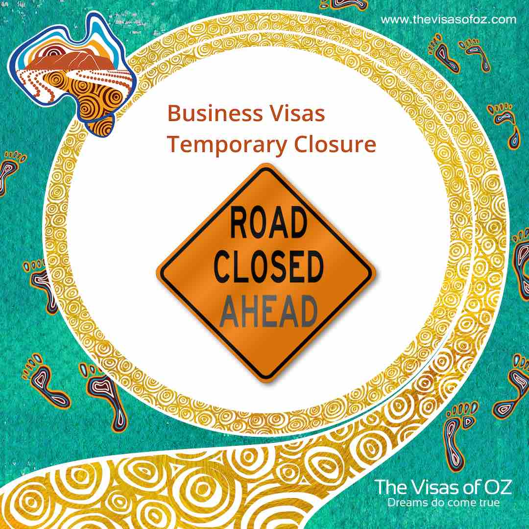 Business Visas Temporary Closure