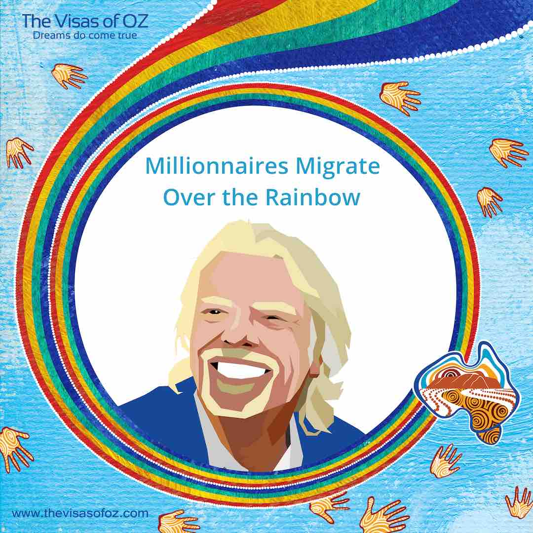 Millionaires Migrate Over The Rainbow