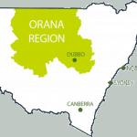 Australia ORANA Region DAMA