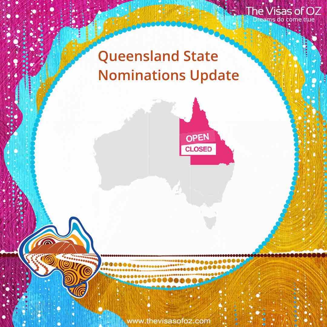 Queensland State Nominations Update
